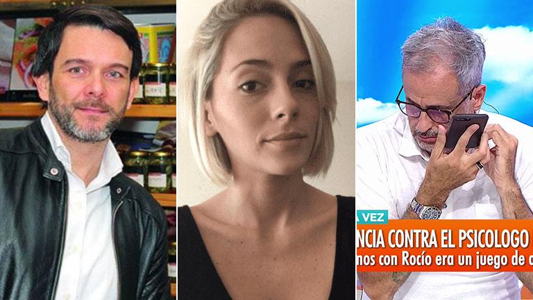 Polémico audio hot de Gervasio Díaz Castelli a Rocío Gancedo: