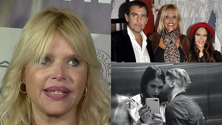 Nazarena Vélez habló del romance de Barbie Vélez y Lucas Rodríguez
