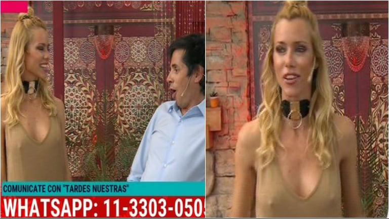 El look hot de Nicole Neumann y el comentario picante de Robertito Funes: