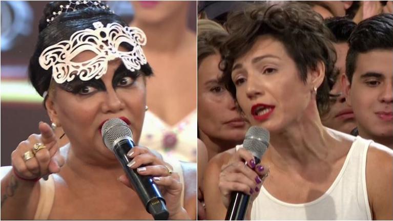 Gladys La Bomba Tucumana se peleó con su coach en ShowMatch: