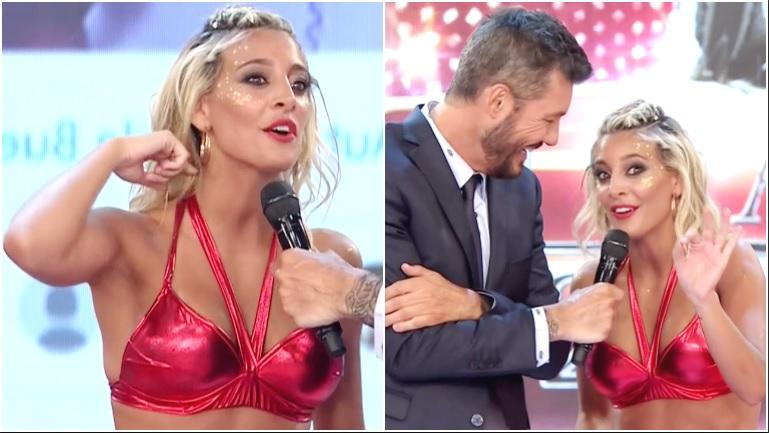Sol Pérez, tras ser salvada por el público en el Bailando: