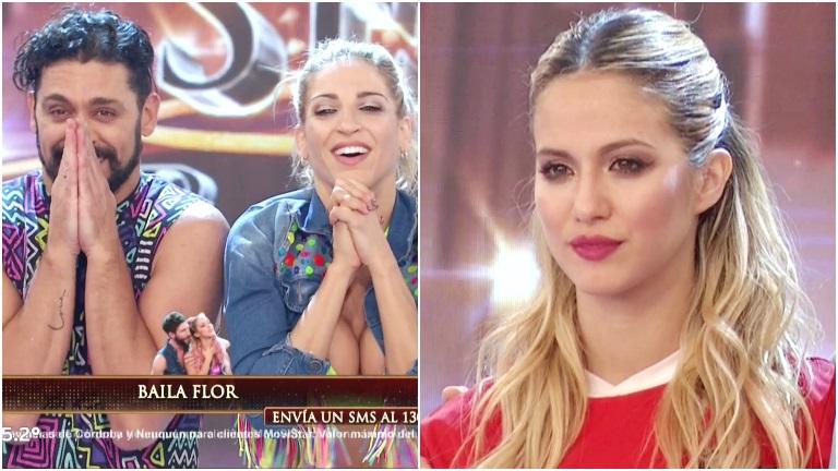 La reacción de Flor Vigna luego de que Piquín y Macarena Rinaldi se llevaron todos los puntos del Bailando
