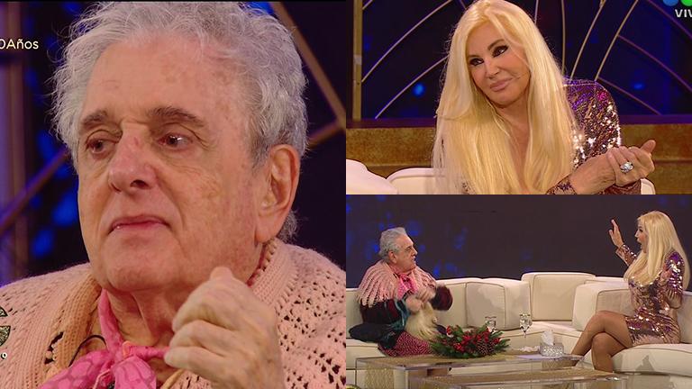 Antonio Gasalla, emocionado hasta las lágrimas con Susana Giménez