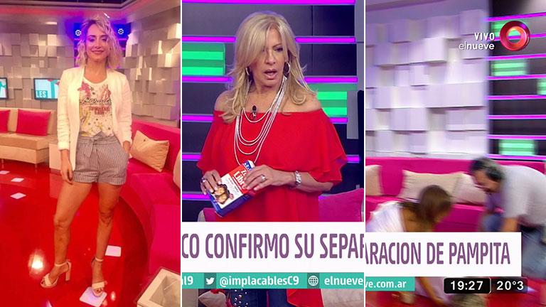 El desmayo de Andrea Ghidone en Implacables