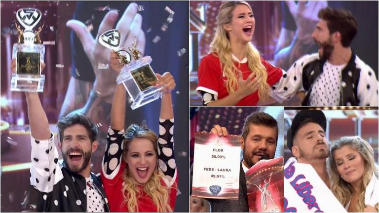 Flor Vigna ganó Bailando 2017 y se convirtió en bicampeona