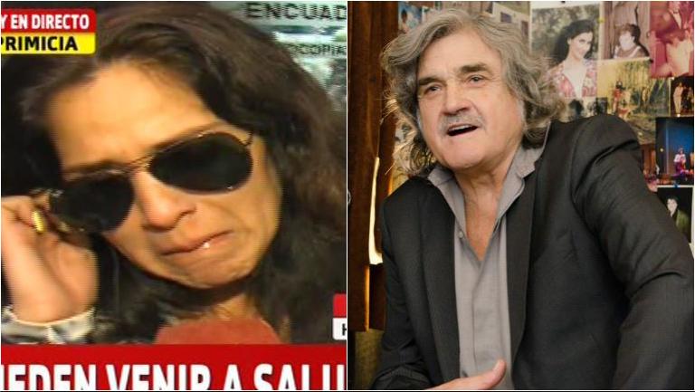 La hija de Lito Cruz, quebrada al dar a conocer la muerte de su padre: