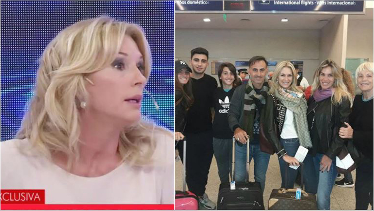 El mal momento de Yanina Latorre tras robarle sus valijas en el aeropuerto