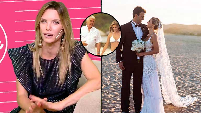 La emoción de Zámolo al revelar el motivo por el que se casó en Uruguay