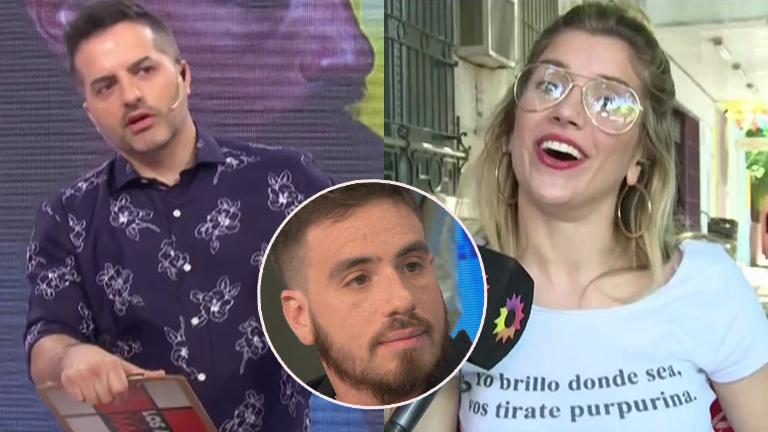 Ángel de Brito y una pregunta sin filtro para Laurita Fernández