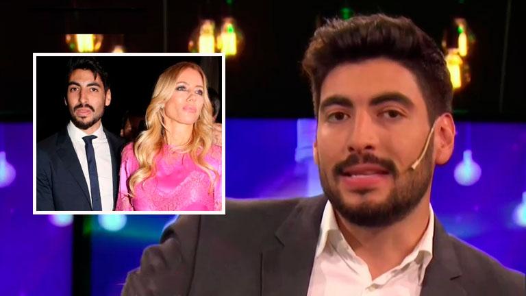 Facundo Moyano, molesto por la exposición de su noviazgo con Nicole Neumann