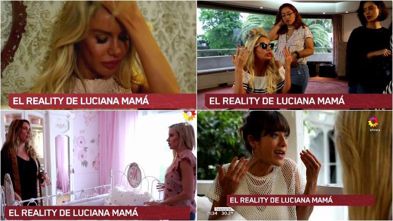 Las primeras imágenes del reality show de Luciana Salazar antes de la llegada de su beba
