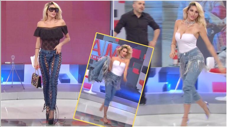 Vicky Xipolitakis se retiró en plena entrevista en LAM a cambiarse el look