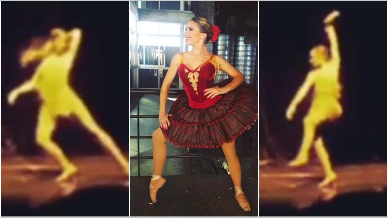 Así bailaba Laurita Fernández a los 15 años