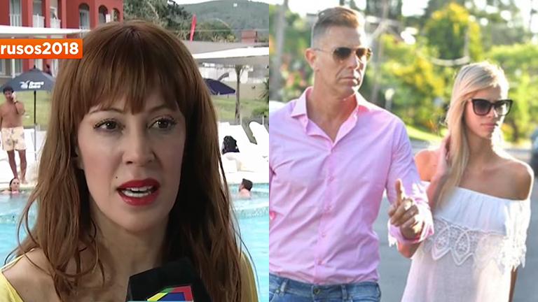 Miriam Lanzoni y el noviazgo de Alejandro Fantino con Coni Mosqueira