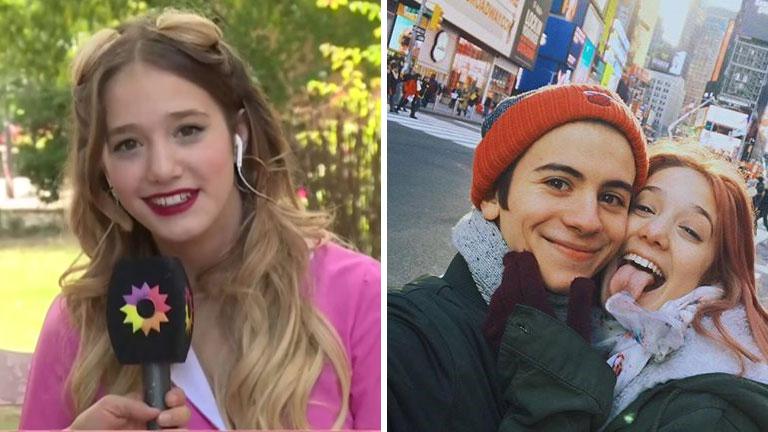 Ángela Torres y contó la reacción de su novio por los besos en Simona