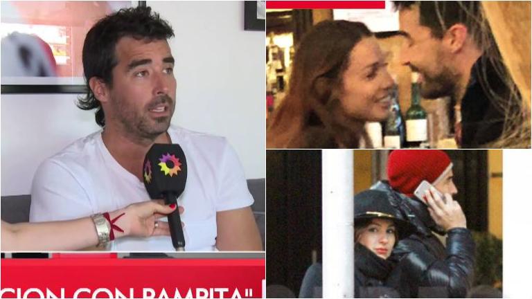Nacho Viale habló de su breve romance con Pampita: