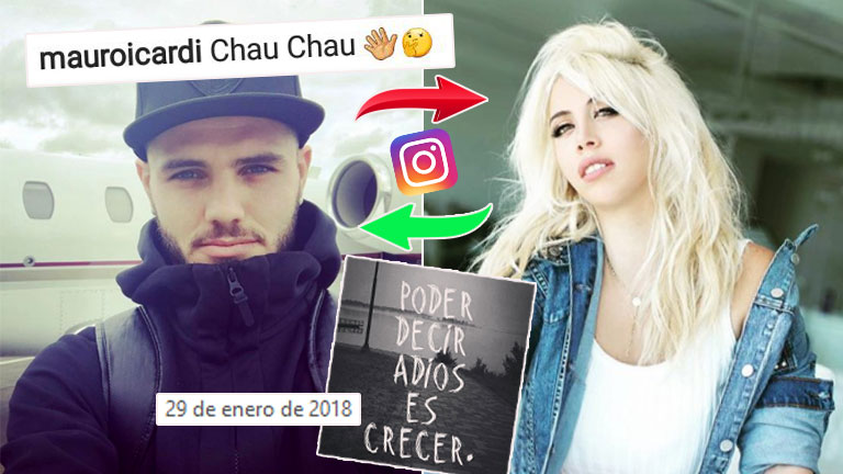 Mauro Icardi dejó de seguir a Wanda Nara en Instagram