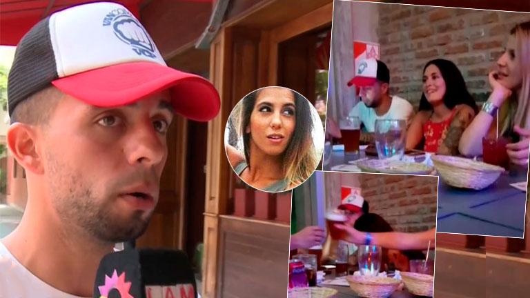 Recién separado, Matías Defederico habló de sus fotos con una mujer en un bar