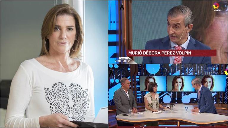 Nelson Castro habló en Telenoche sobre la muerte de Débora Pérez Volpin: