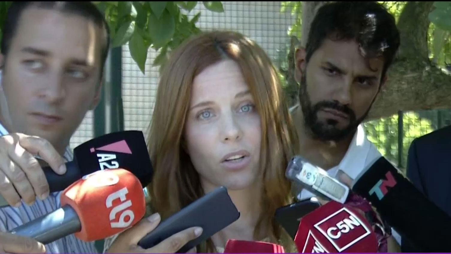 Agustina Kämpfer habló tras declarar ante la Justicia por la compra de un departamento de 120.000 dólares en 2010