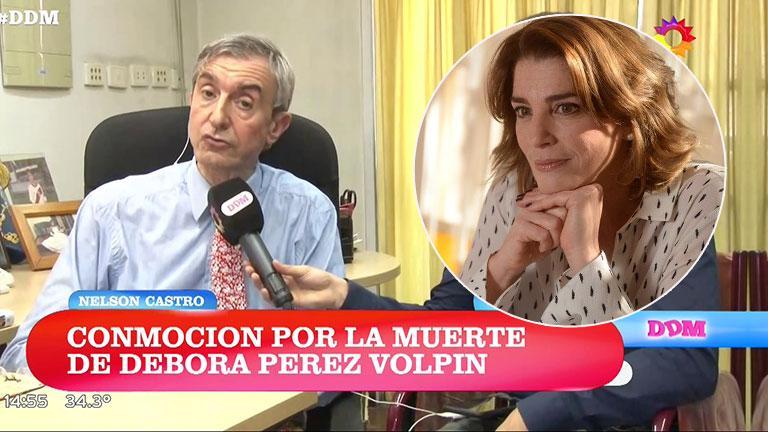 Nelson Castro criticó el parte médico sobre la muerte de Débora Pérez Volpin