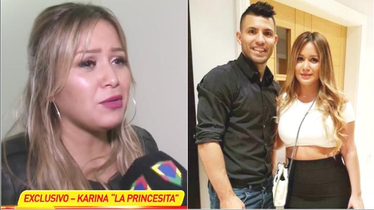 La Princesita Karina negó los rumores de reconciliación con el Kun Agüero