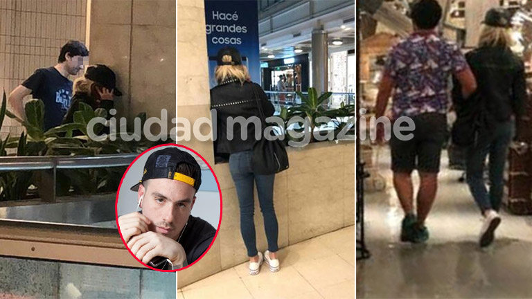 De Brito reveló las fotos de Laurita Fernández llorando en un shopping... ¿y hablando por teléfono con Fede Bal?