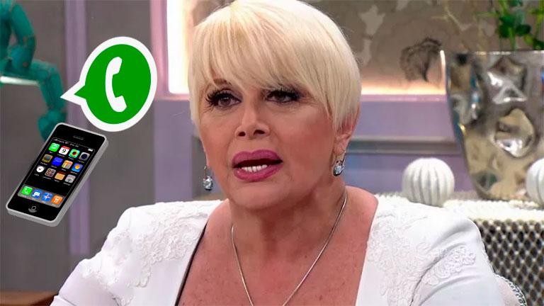 Filtran audio de Carmen Barbieri, furiosa en el teatro