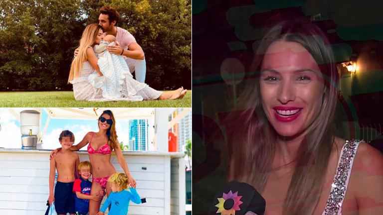 Pampita contó que sus hijos ya conocieron a Magnolia, la niña de Benjamín Vicuña y la China Suárez