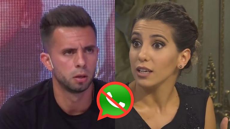 Cinthia Fernández bloqueó a Matías Defederico