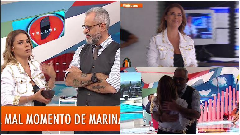 Marina Calabró tuvo un accidente con su auto: