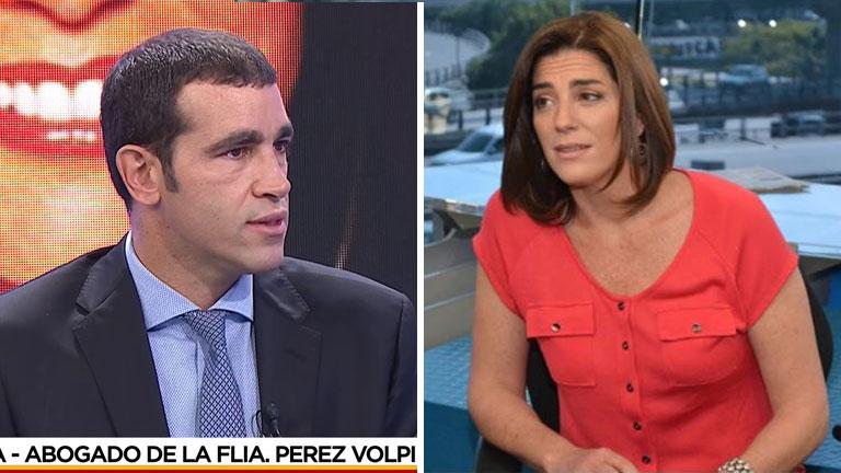 El abogado de la familia de Pérez Volpin incriminó a la anestesista