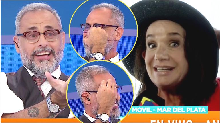 El piropo de Ana María Picchio que sonrojó a Rial en vivo