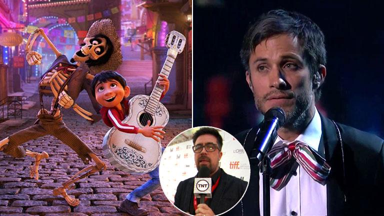 El show musical de Gael García Bernal en los Oscar 2018... y la picante crítica en vivo del comentarista de TNT
