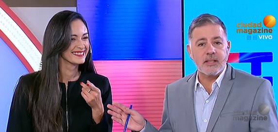 Polémico pase entre Gabriela Sobrado y Fabián Doman