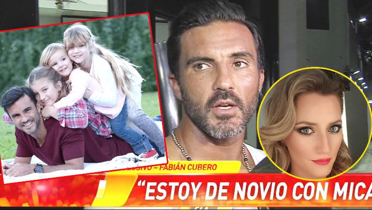 Fabián Cubero reveló cómo presentará oficialmente a Mica Viciconte como su novia