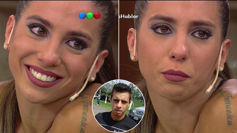 El desgarrador llanto de Cinthia Fernández al hablar de Matías Defederico: