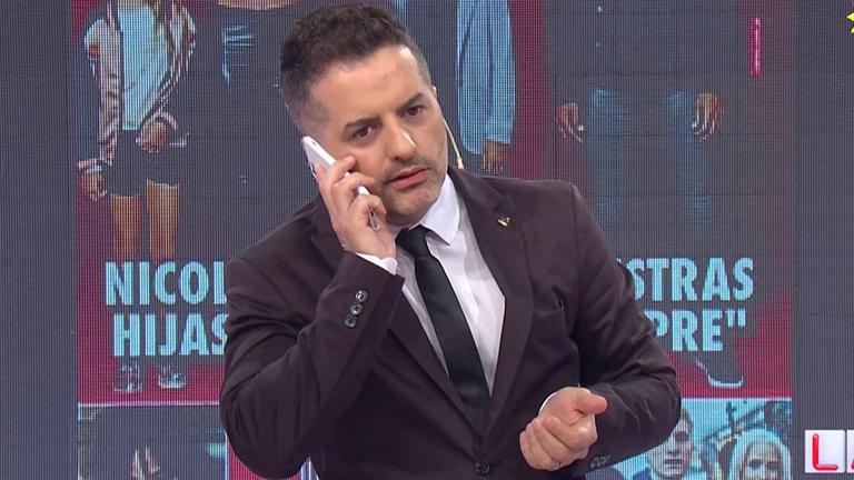 Ángel de Brito atendió el teléfono en vivo