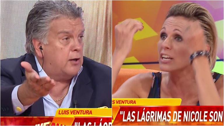 Picantísimo cruce de Luis Ventura con Denise Dumas: