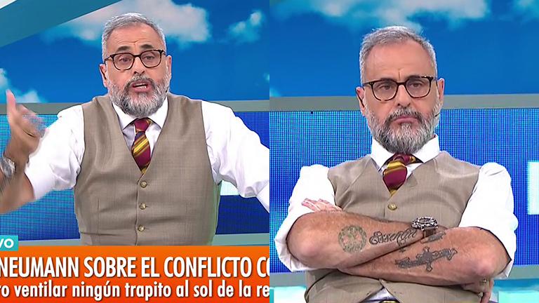 El enojo de Jorge Rial en Intrusos