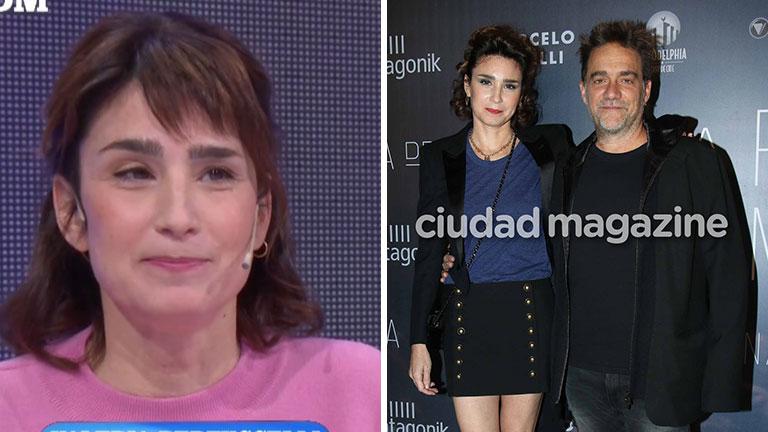 Valeria Bertuccelli reveló el secreto de su matrimonio con Vicentico
