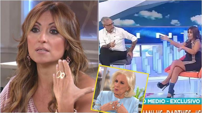 Marcela Tauro, sobre su cruce con Jorge Rial: