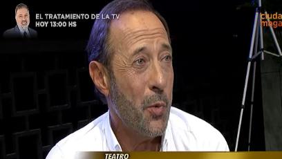 Guillermo Francella en su rol de director teatral