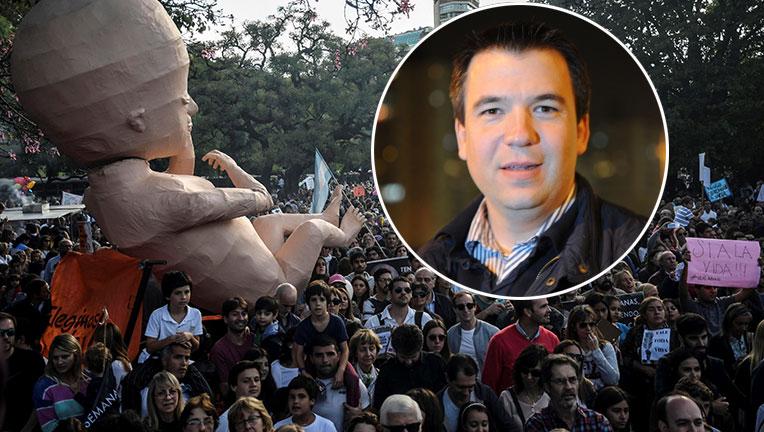 Gastón Recondo justificó su postura antiabortista