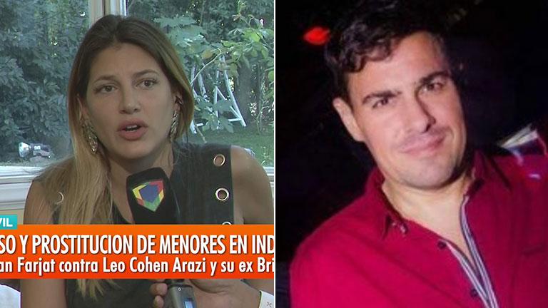 """Fuerte denuncia de Marian Farjat contra el manager Leo Cohen Arazi, imputado por corrupción de menores en Independiente: """"Me ofreció prostituirme"""""""