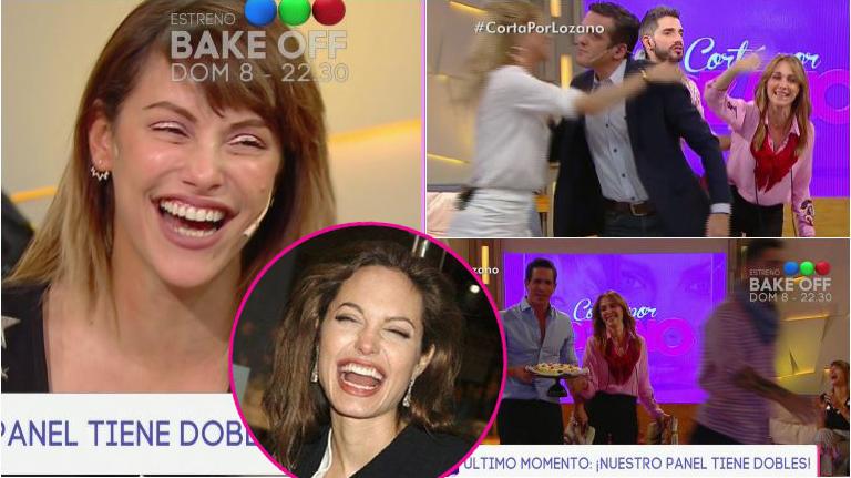 Connie Ansaldi contó que la confunden con Angelina Jolie... ¡y provocó que todos se levanten de Cortá por Lozano!