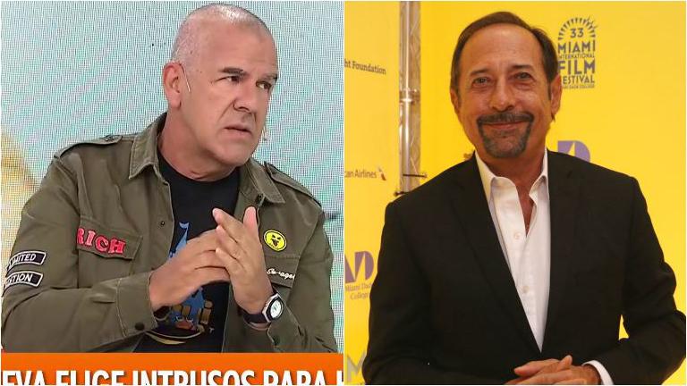 Dady Brieva, filoso con Guillermo Francella: