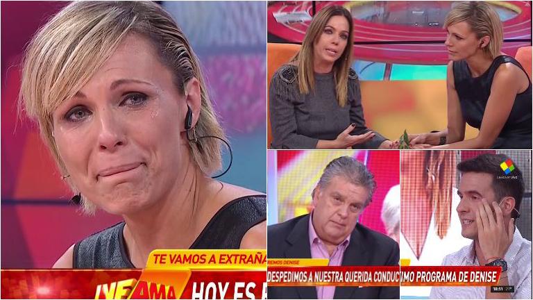 La despedida de Denise Dumas de Infama: