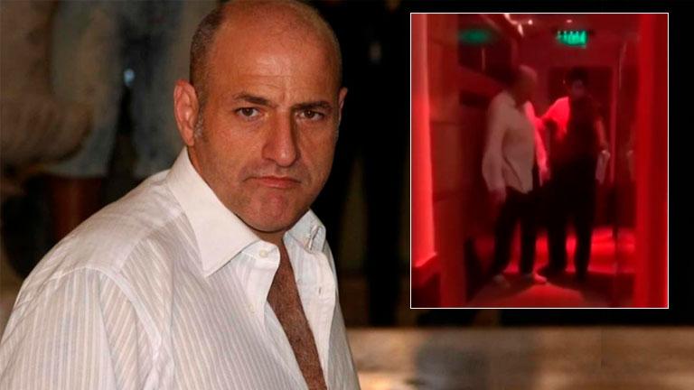 Imágenes del escandaloso episodio de Gustavo Sofovich en un hotel alojamiento