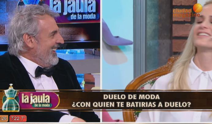 Julieta Prandi vs. Benito Fernández